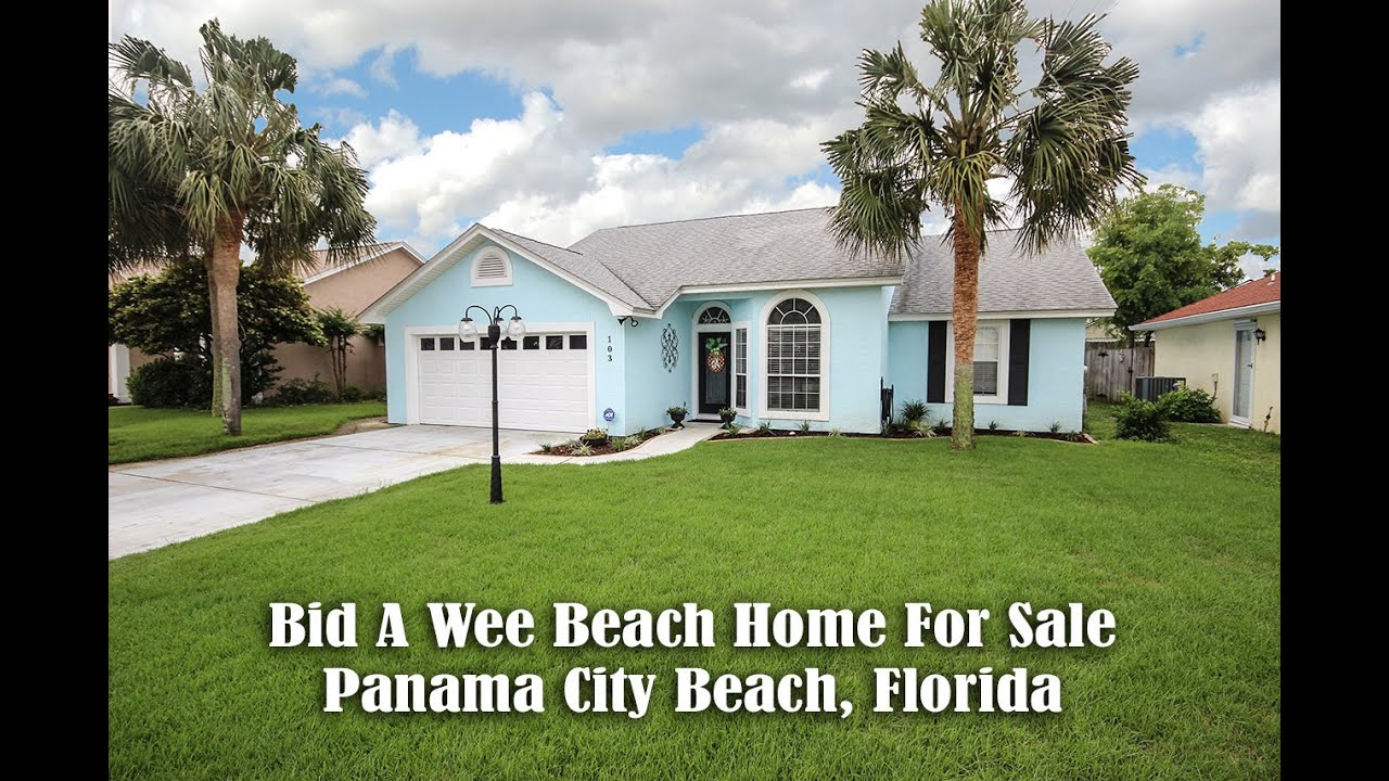 bid a wee beach home panama city beach florida real