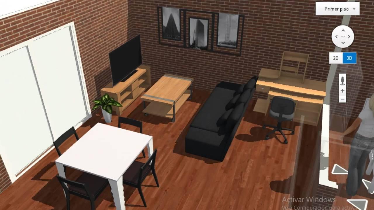 Casa 50 metros dos dormitorios youtube for Dormitorio 6 metros cuadrados