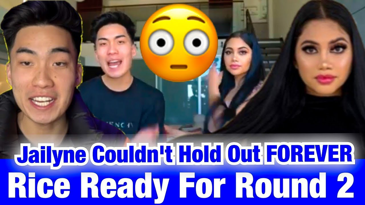 RICEGUM SURPRISED JAILYNE UNBLOCKED AND FOLLOWED HIM AGAIN + PLANS TO TAKE A TRIP TO LA SOON 😱