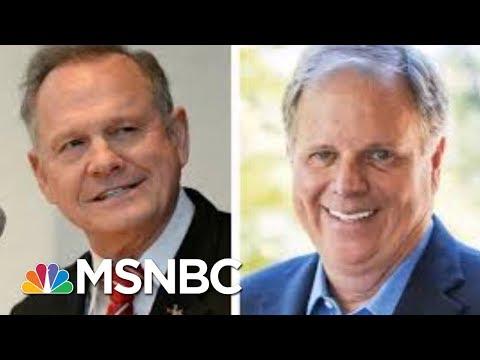 In Latest Fox News Poll, Doug Jones Leads Roy Moore In Alabama Senate Race   Morning Joe   MSNBC