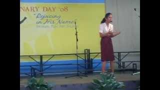 oration christian piece bbsi seminary day 2009 champion