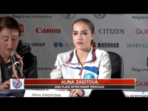 2018 World Figure Skating Championships - Post Ladies SP Press Conference - March 21, 2018