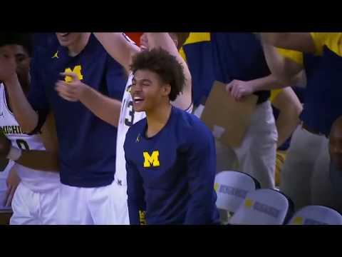 Jordan Poole On Michigan's Undefeated Season | Big Ten Basketball