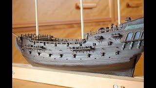 черная жемчужина корабль модель