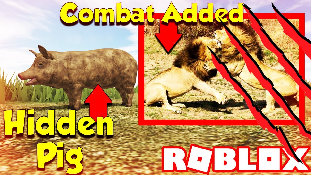Roblox Wild Savannah Testing A Testing C Combat Added And Hidden Pig Wild Savannah Random Game Slot By Ludicrouscunningfox Youtube