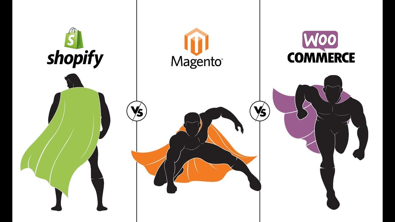 Shopify Vs Magento Vs Woo Commerce- Which eCommerce Platform To Choose