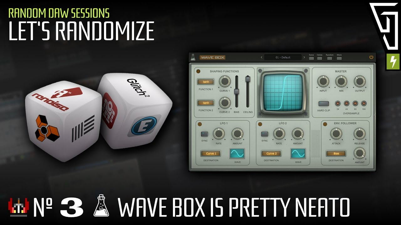 AudioThing Wave Box - Dynamic Dual Waveshaper - Gearslutz