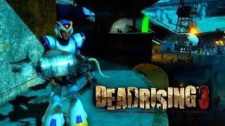 DEAD RISING 3 - Roupa de Megaman X e Psicopata! (Xbox One Gameplay / Português PT-BR)