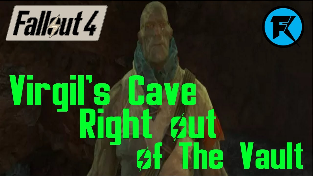Fallout 4 Going To Virgils Cave Right Out Of The Vault Youtube Bott Funko Pop Lone Wanderer Male