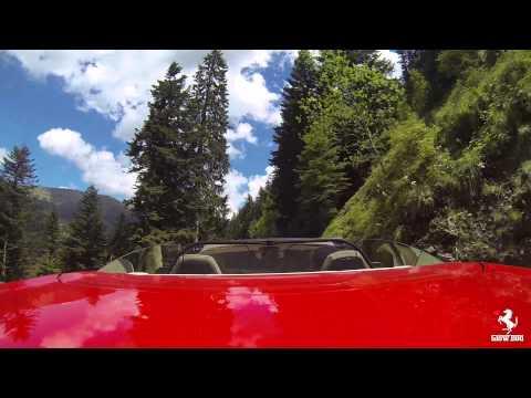 Col de Turini, France - Ferrari California