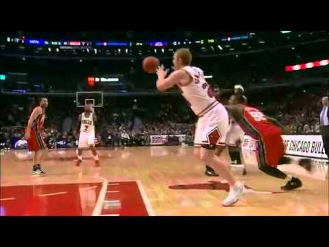 Brian Scalabrine With No Regard For Human Life!