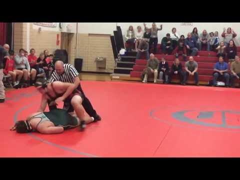 Wrestler gets knocked out