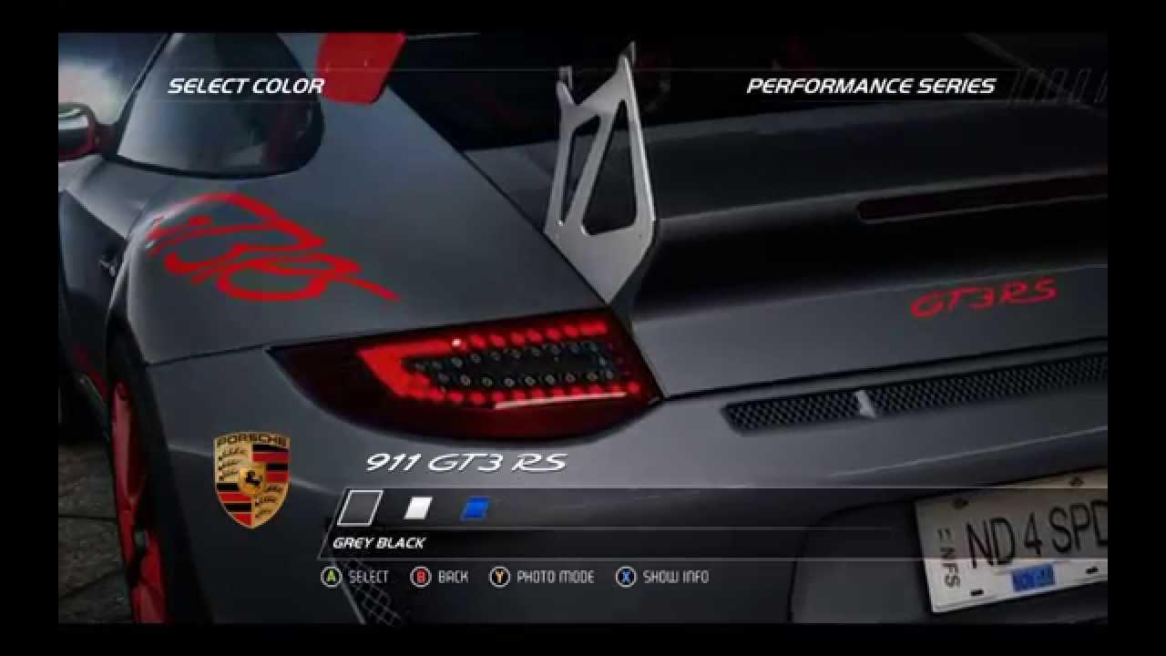 need for speed hot pursuit 2010 porsche 911 gt3 rs. Black Bedroom Furniture Sets. Home Design Ideas