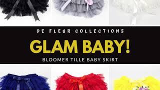Rok Tutu Bayi Tille Bloomer Grey