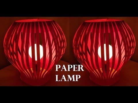 Eco Friendly Paper Lamp | DIY | Decoration for Diwali