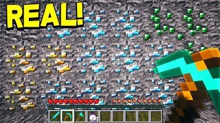EXTREMELY REALISTIC MINECRAFT! (NOT CLICKBAIT)