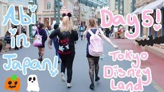 Abipop in Japan ♬*゜| Day 5 - Tokyo Disneyland - Halloween | Abipop