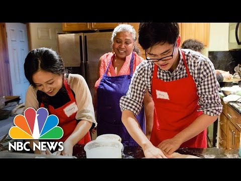 Immigrant Women Share Cooking Secrets In A Unique Home-Based School | NBC News
