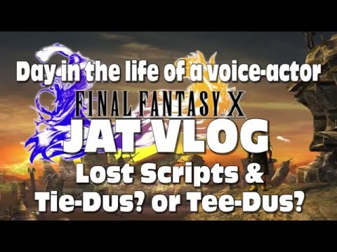 How do you say Tidus? PLUS Found Scripts from Final Fantasy X and X-2
