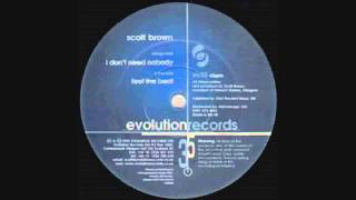 Scott Brown - I Don