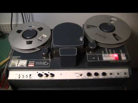 Let's check out an MVR-65 Video Tape Recorder