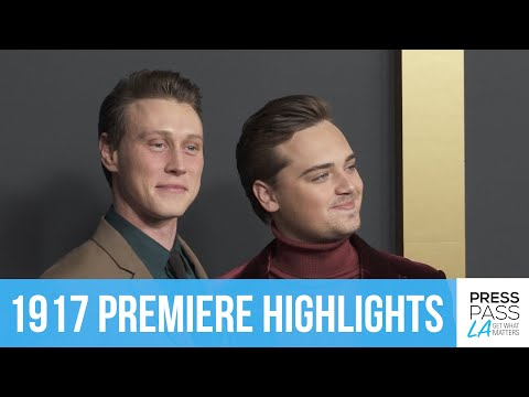 1917 World Premiere | Red Carpet Highlights