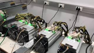 AntMiner S9 R4 ETH GPU Miner farm bitcoin