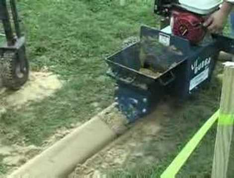 cement curb machine