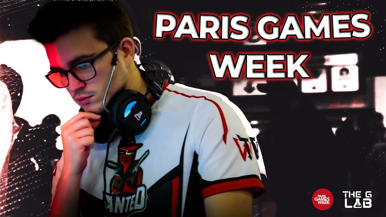 WanteD à la Paris Games Week stand The G-Lab