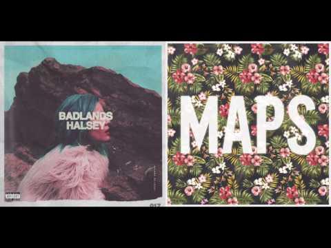 Gasoline Maps - Halsey vs. Maroon 5 (Mashup)