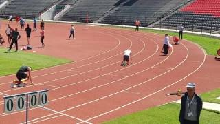 "Krenar Myrteza Kampion Shqiperie  400m/p 56""82"