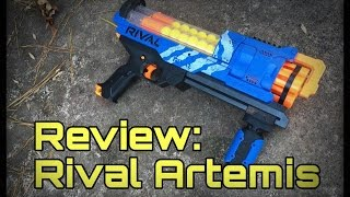 Honest Review: The Nerf Rival Artemis MVII-3000