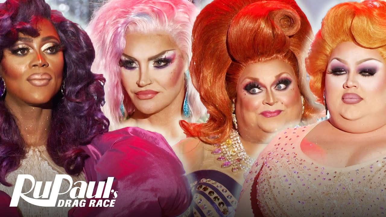 """The Top Four Lip Sync To """"Stupid Love"""" 💕 RuPaul's Drag Race All Stars -  YouTube"""