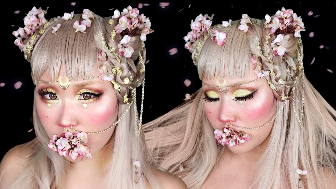 sailor moon inspired makeup & hair