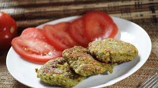 Tortitas De Lenteja - Lentil Patties - Recetas De Cocina Saludable - Vegetarian