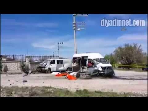 Konya'da öğrenci servisi kaza yaptı: 4 ölü, 11 yaralı