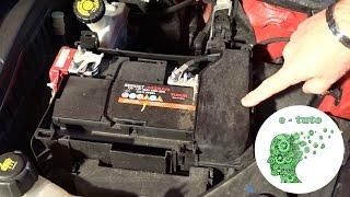 Changer la batterie d'une Clio 3.