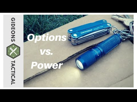 DO OPTIONS TRUMP POWER? Fenix E05 EDC Flashlight
