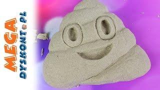 Emotki Film • Kupa Emoji • Piasek kinetyczny • Kreatywne zabawki