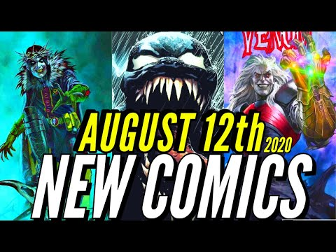 NEW COMIC BOOKS RELEASING AUGUST 12th 2020 MARVEL COMICS & DC COMICS PREVIEWS COMING OUT THIS WEEK