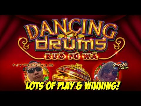 Dancing Drums Slot Bonuses Nice Wins Youtube