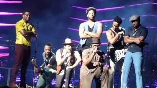Bruno Mars Runaway Baby Amway Arena 8-27-2013