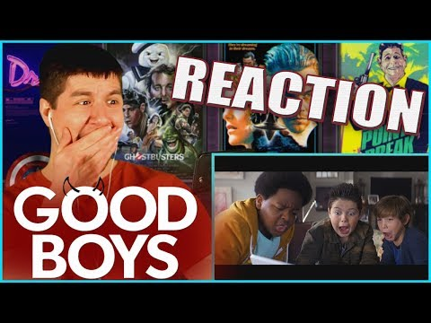 GOOD BOYS (2019) - Red Band Trailer #1 Reaction & Review!!!