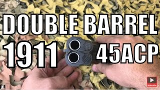 arsenal firearms af2011 double barrel 1911 45 acp awesome pistol overview new world ordnance