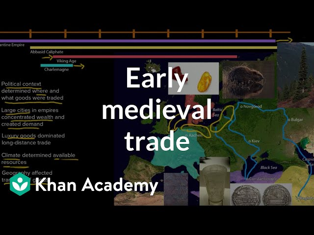 review of medieval trade and commerce history essay Published: mon, 5 dec 2016 during the peak of roman empire, overseas trade thrived where there was trade between europe, china, and the far east after the collapse of roman empire, a lot of famous trade routes weren't used anymore.