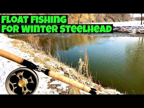 Winter Steelhead Fishing Lake Ontario Tributary