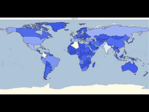 Global terrorism - 1970 to 2014