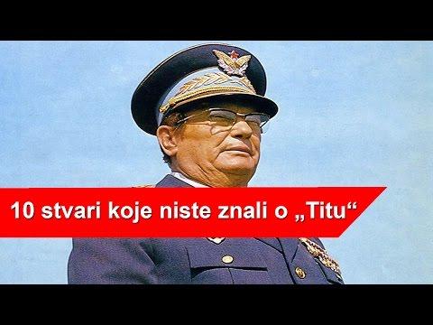 Ko je bio Josip Broz Tito? | ISTINA JOSIPA BROZA TITA | 10 STVARI KOJE NISTE ZNALI O TITU