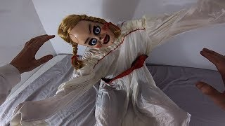ANNABELLE VS PARKOUR IN REAL LIFE | ANNABELLE COMES HOME