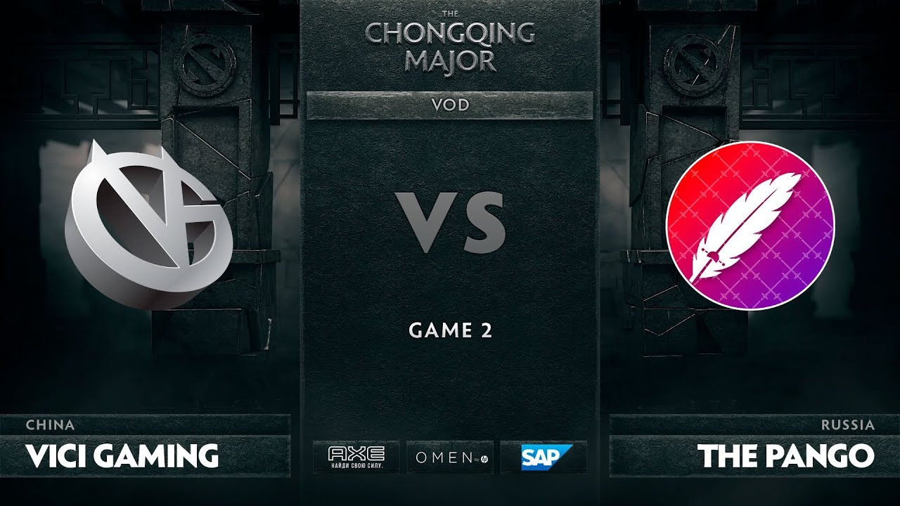 [RU] Vici Gaming vs The Pango, Game 2, The Chongqing Major Group C
